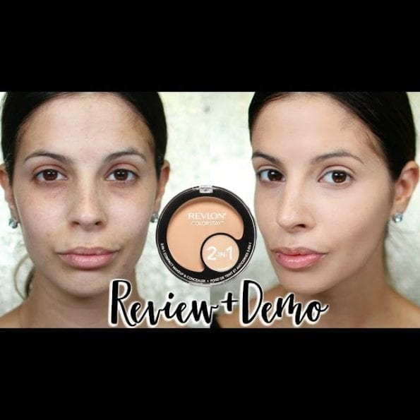 Revlon 2In1 Compact & Concealer 01 Shade (12)