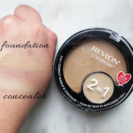 Revlon 2In1 Compact & Concealer 01 Shade (14)