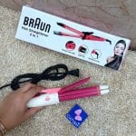 2in1 Braun Hair Straightener & Hair Curler (1)