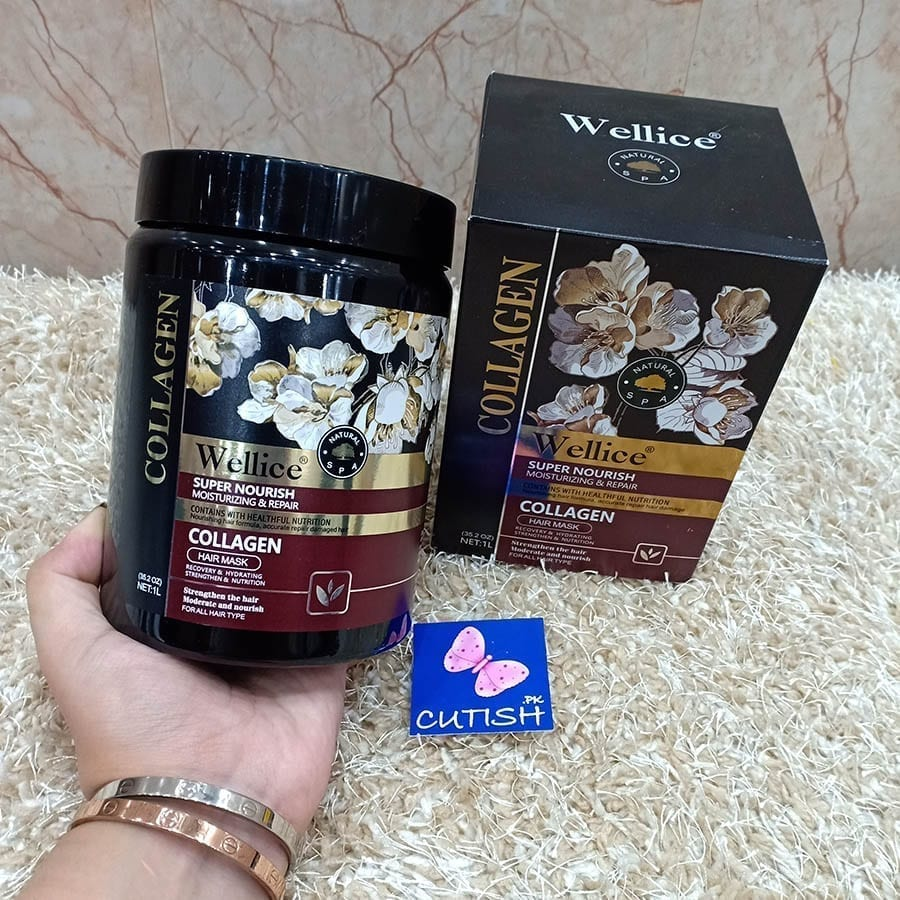 Collagen Hair Mask Super Nourish Wellice (1)