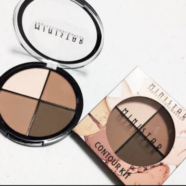 Ministar Contour Kit 3In1 Palettee Circle Packing 2