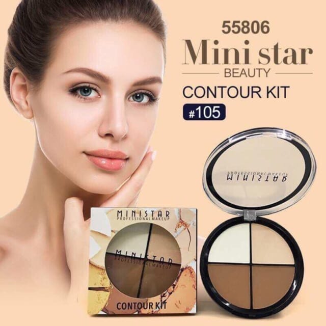 Ministar Contour Kit 3In1 Palettee Circle Packing