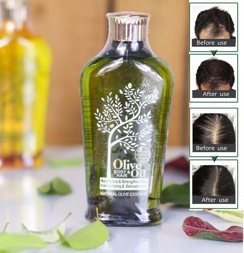 Olive Oil For Hair Nourishment and Hair Growth (2)