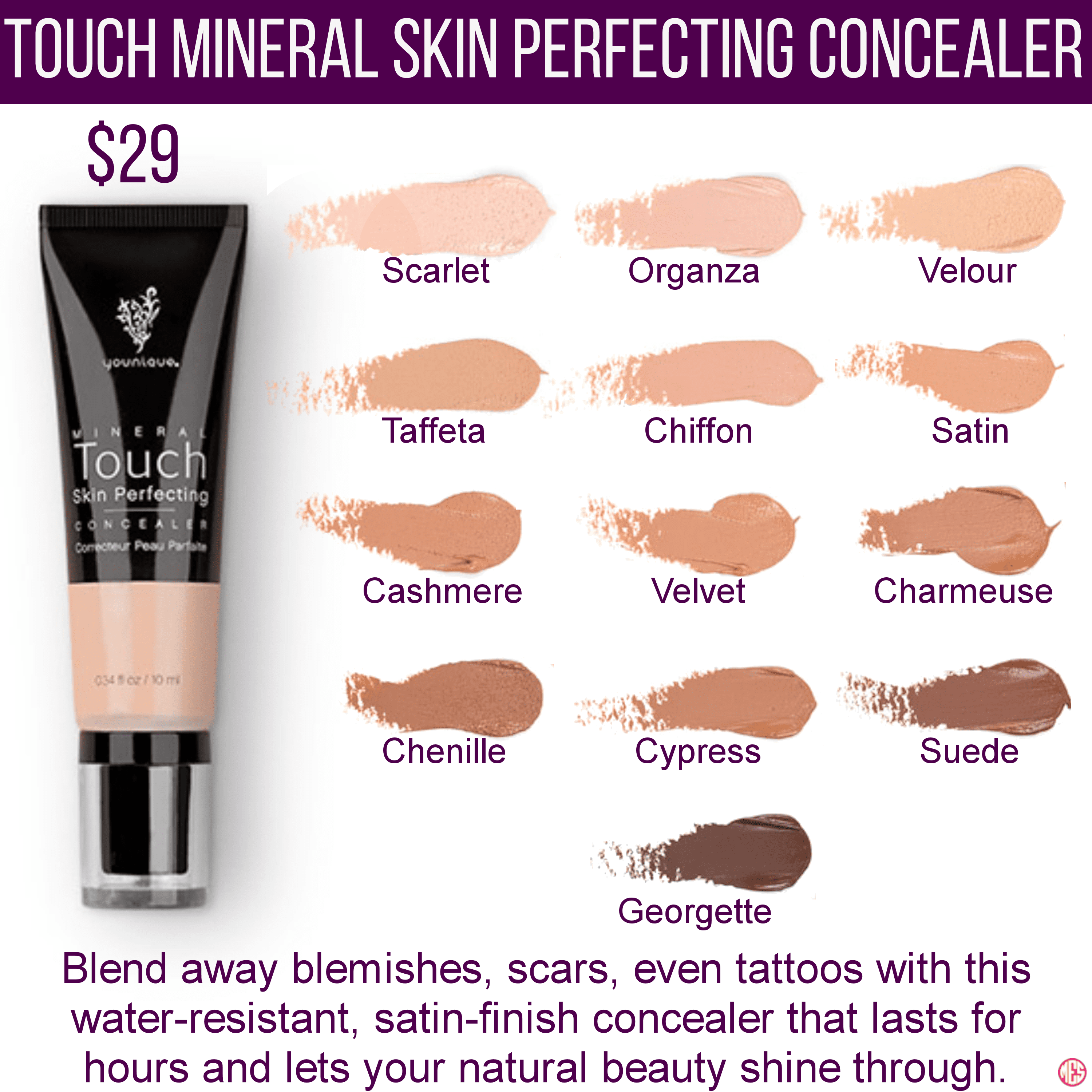 Touch Skin Perfecting Concealer 2