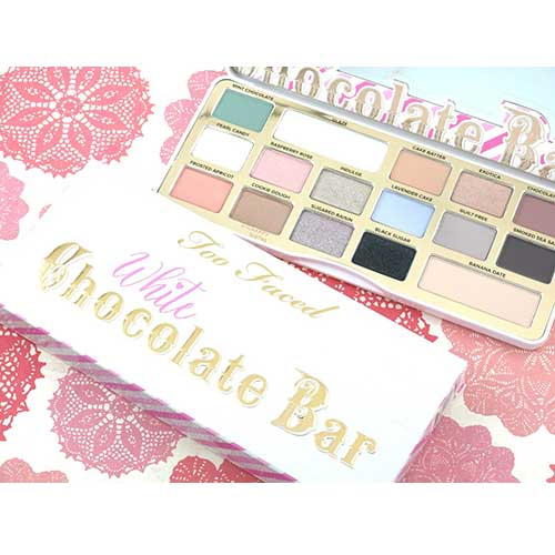 Beautytoo faced white chocolate bar palette 8