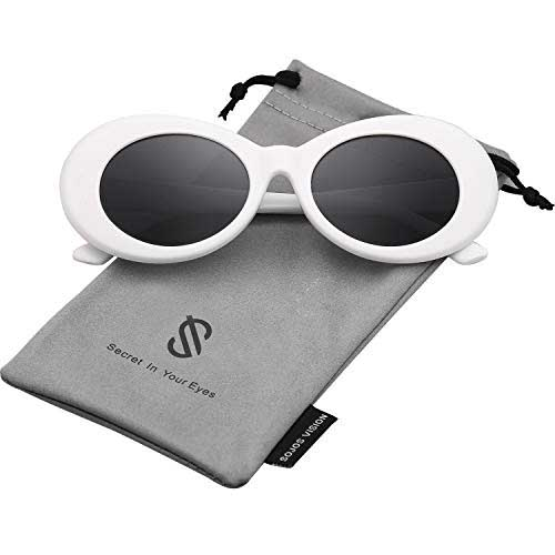 Sojos Clout Classic Style Oval Sunglasses Inspired by Kurt Cobain 6